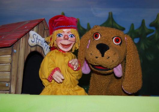 Puppentheater in der Helmholtzstrasse
