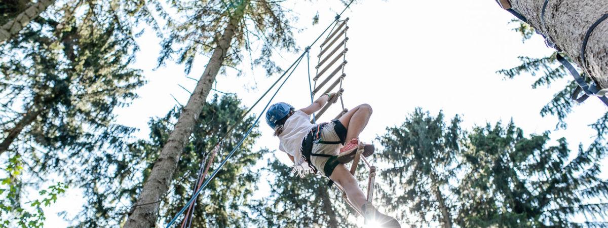 Ein Kindergeburtstag voller Hochspannung - Klettergeburtstag